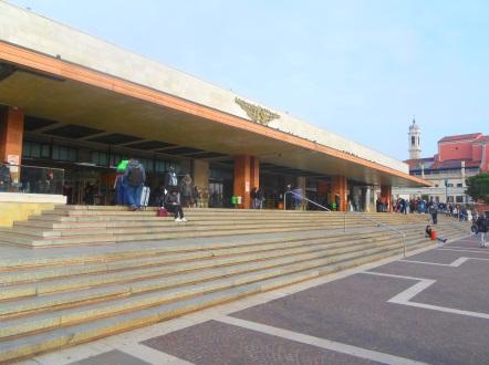 Der Bahnhof Santa Lucia in Venedig