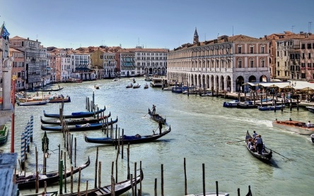 der canale grande in venedig. Black Bedroom Furniture Sets. Home Design Ideas